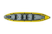 Kutlíci - prodloužená žlutá kánoe