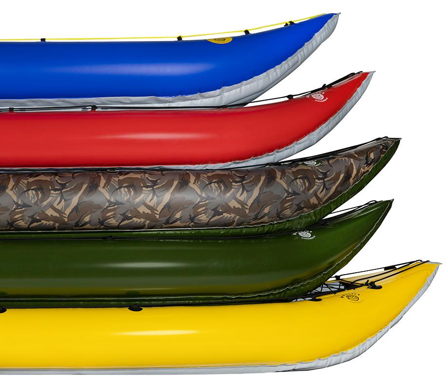Kutlíci - kanoe porovnání